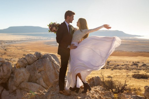 adventure wedding in utah