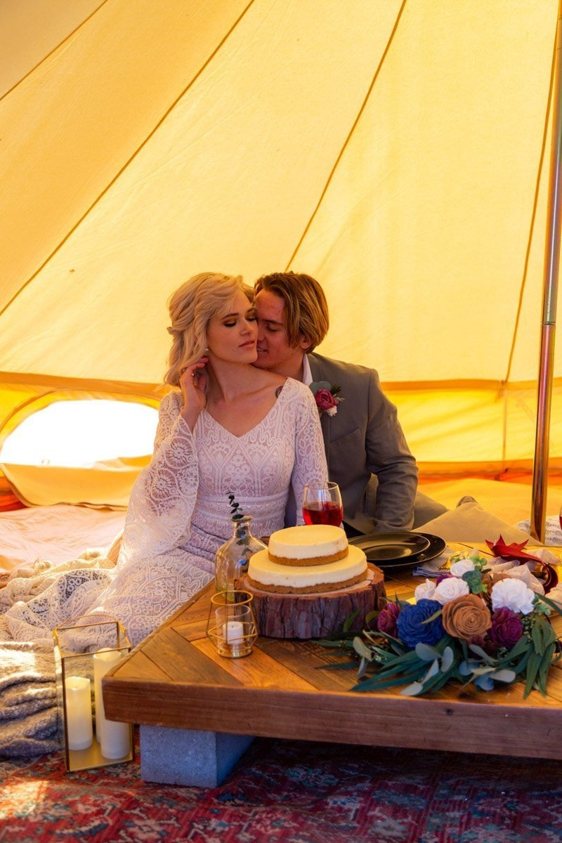 camping elopement