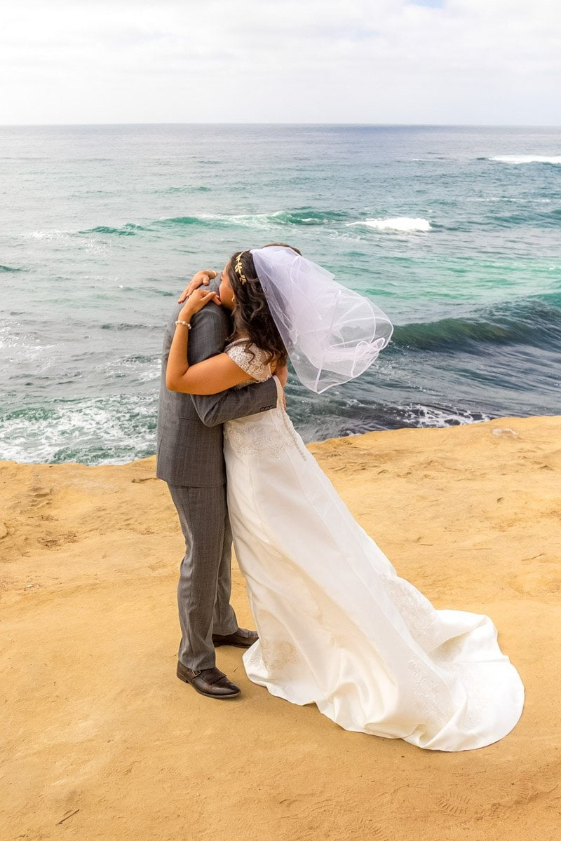 beach side wedding vows