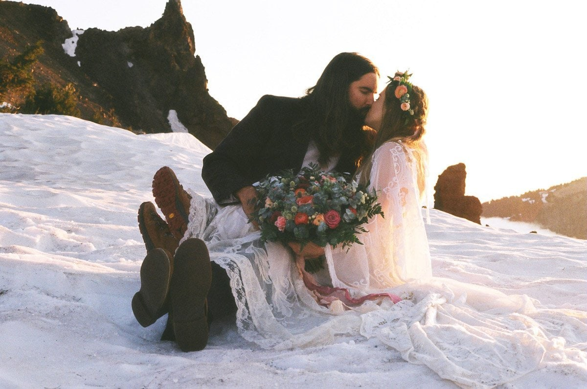 vow renewal in crater lake national park